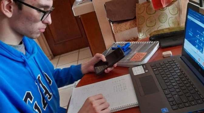 Examen en línea para el ingreso a preparatorias en Baja California Sur