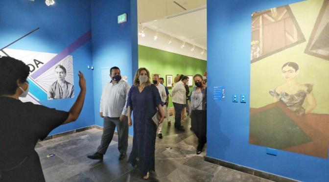 Interesante la exposición de Frida Kahlo y Diego Rivera en La Paz