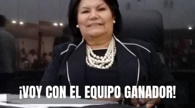 ¡Deserta diputada de MORENA para irse con Alianza Panista!