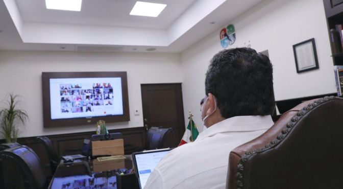 La Jornada de Elección analizaron gobernadores con Secretaría de Gobernación