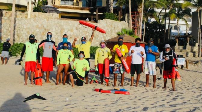 Para seguridad de la ciudadanía, Guardavidas de Los Cabos se encuentran en Seminario de Rescate Acuático