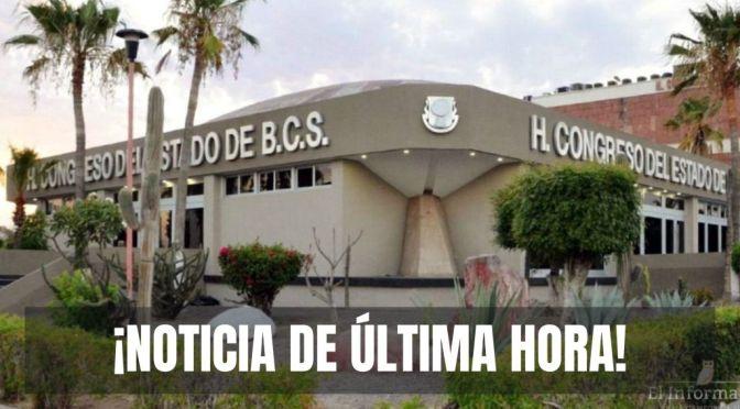 ¡Pierden diputados de MORENA y PT BCS cuatro controversias en la Corte!