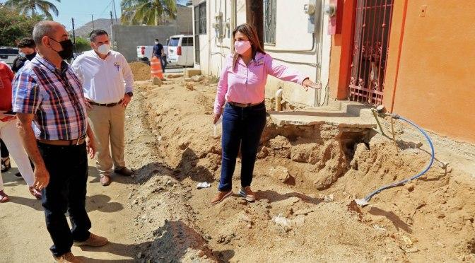 ¡Serán pavimentadas 9 calles más en Cabo San Lucas!