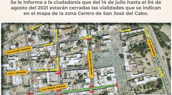 Durante 22 días se modifica acceso a Plaza Mijares e IMSS