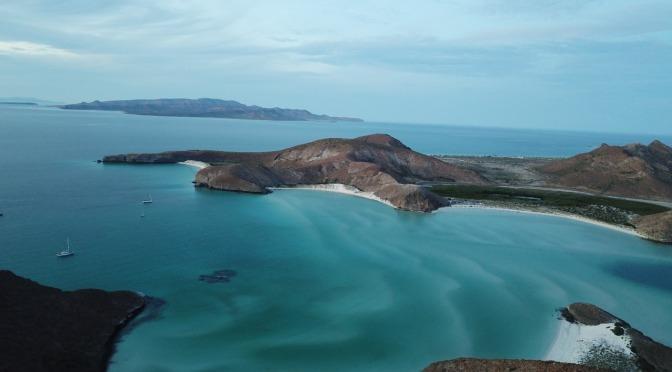 Playas de La Paz con 40% de aforo