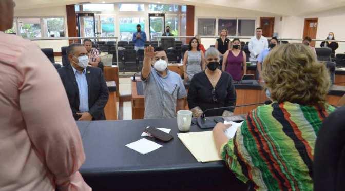 Es electo y toma protesta Rafael Siqueiros como representante ciudadano del Consejo de la Judicatura del Poder Judicial de BCS