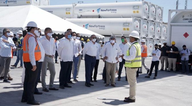 New Fortress Energy inicia operaciones comerciales en Baja California Sur